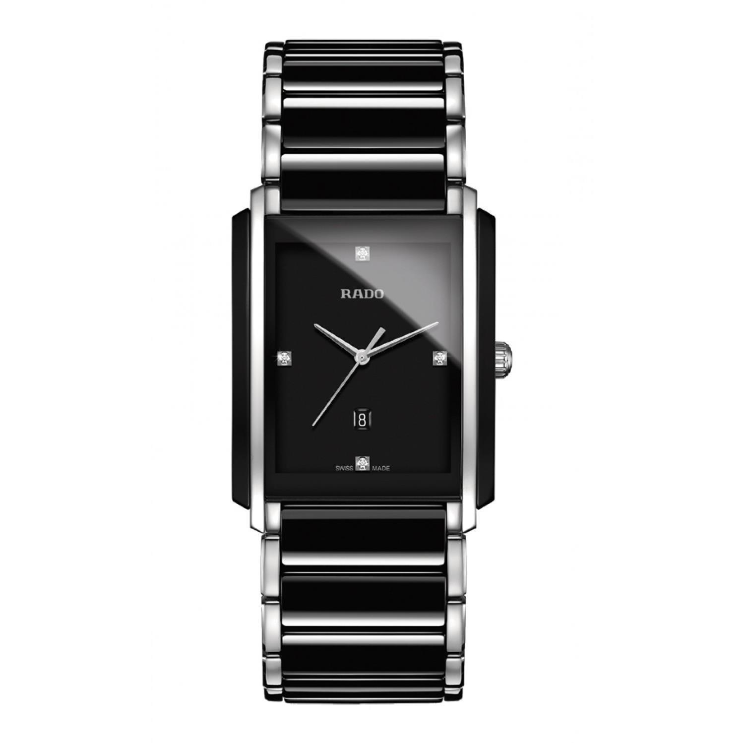 Rado Men's Integral Jubile Diamond Two Tone Ceramic Band ...