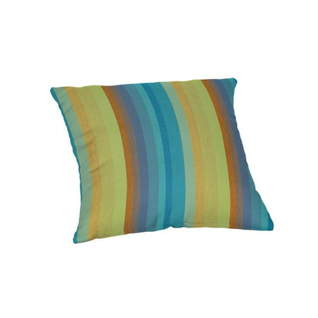 "Sunbrella 16"" Throw Pillow - Astoria Lagoon"