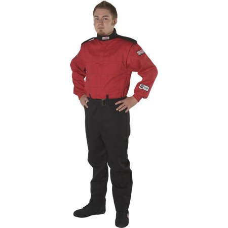 G-Force Racing Gear GF525 SUIT SFI 3.2A/5 XXX-LARGE RED - Racing Costumes