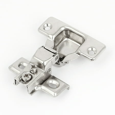 Whisper Close Hinges - Uxcell Cabinet Hydraulic Soft Close Half Overlay Concealed Inset Hinge Hardware