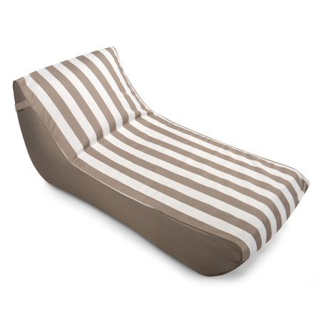 Drift And Escape Stratus Chaise Lounge Bean Bag Pool Float