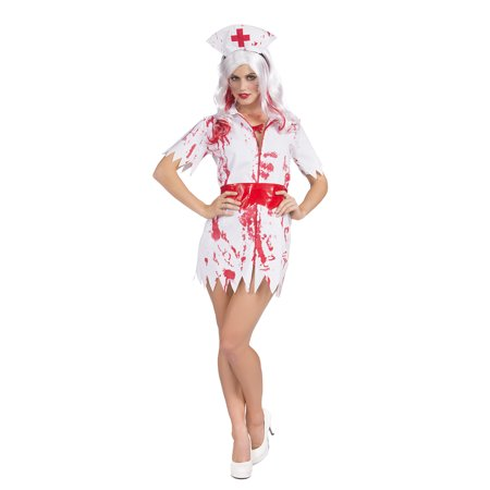 Zombie Bloody Nurse Costume Doctor Outfit Halloween Cosplay Costume - Doctor Who Halloween Outfit