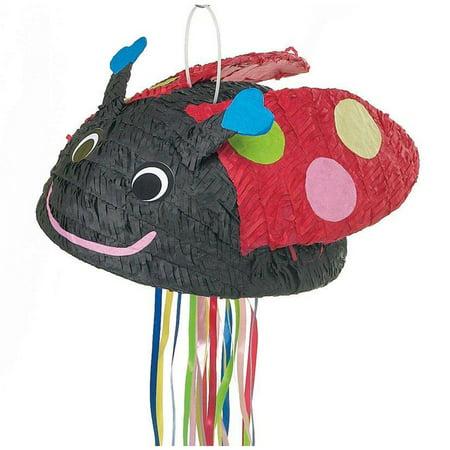 Ladybug Pull String Pinata](String Pinata)