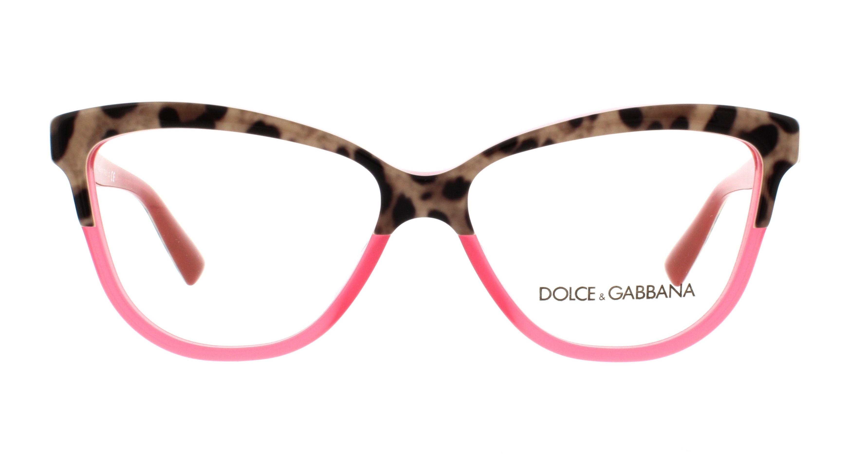 b8414adac24c DOLCE   GABBANA Eyeglasses DG3229 2949 Animal On Raspberry 54MM -  Walmart.com