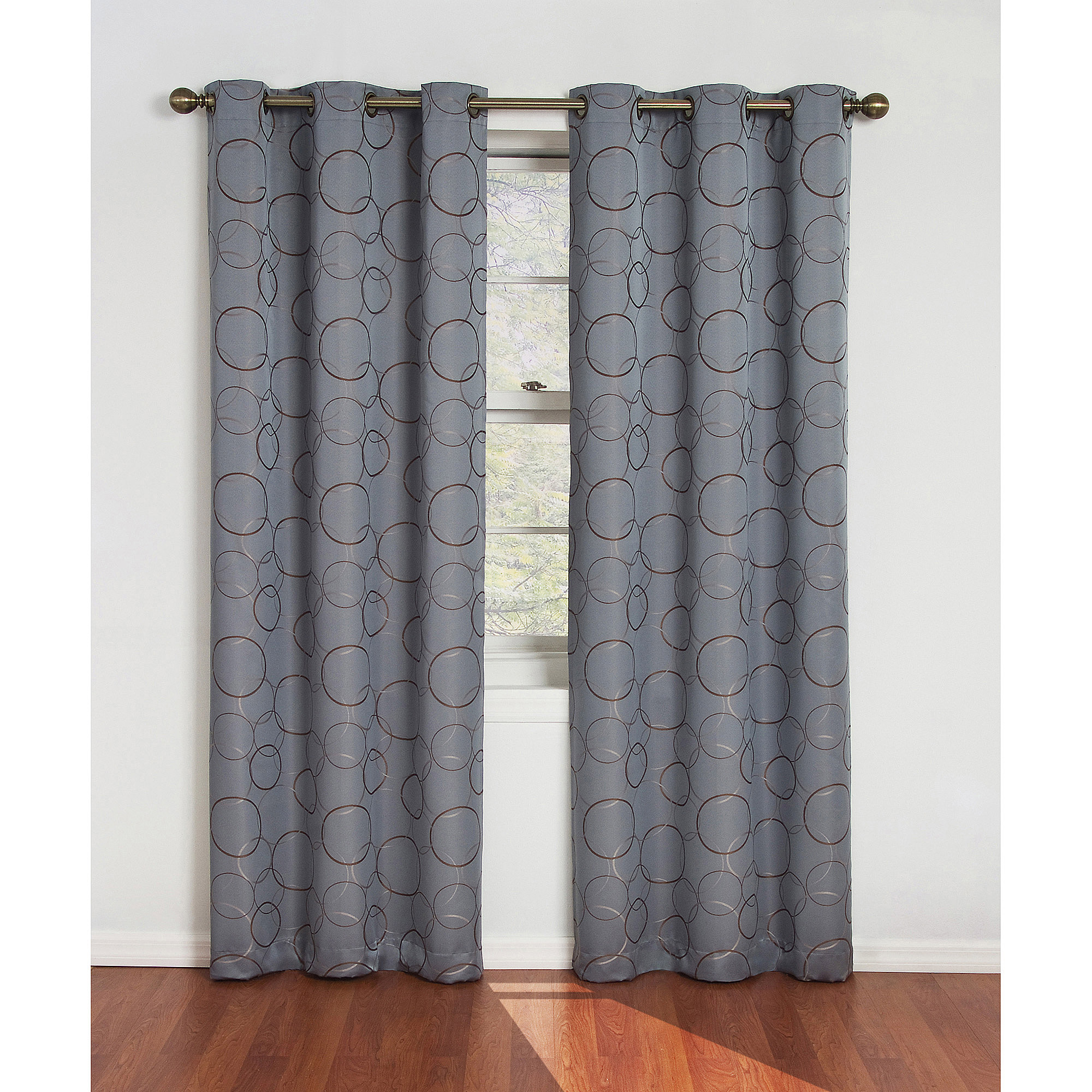 Better Homes And Garden Curtains Striped Curtain Panels