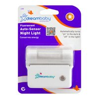 (2 Pack) Dreambaby Fluorescent Auto-Sensor Night Light, 1.0 CT