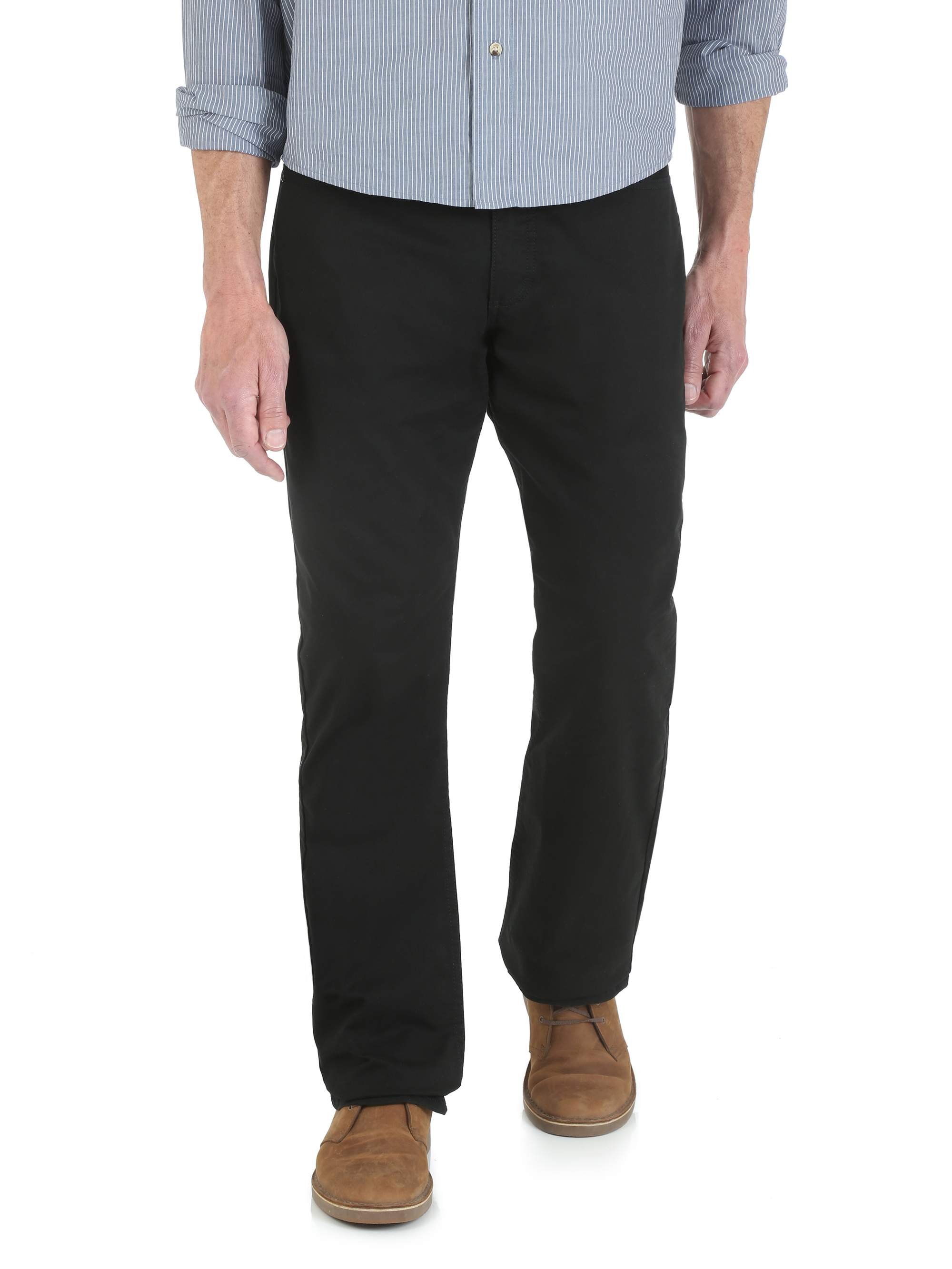 Men's Straight Fit Twill Pant