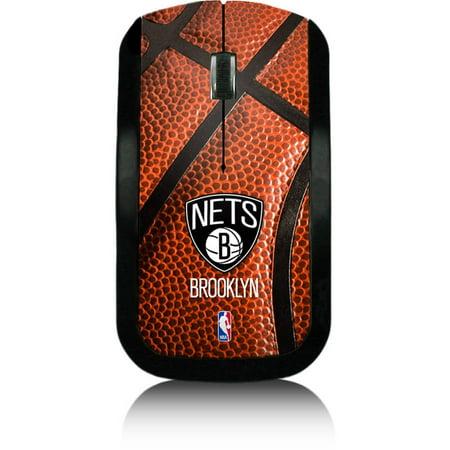 Brooklyn Nets Basketball Design Wireless Usb Mouse By Keyscaper