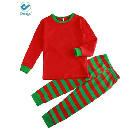 c10ec1301 Deago - Deago Family Matching Christmas Pajamas Sleepwear Long ...
