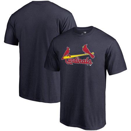 Cardinals Bb - St. Louis Cardinals Fanatics Branded Big & Tall Team Wordmark T-Shirt - Navy