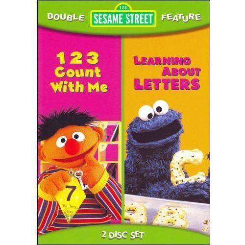 Sesame Street: 1,2,3 Count With Me / Learning About Letters (Full Frame)