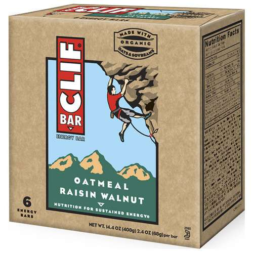 Clif Oatmeal Raisin Walnut, 6ct