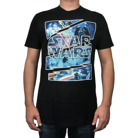 Men Star Wars T- Shirt Galaxy