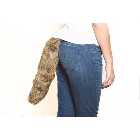 BROWN FOX TAIL 18IN