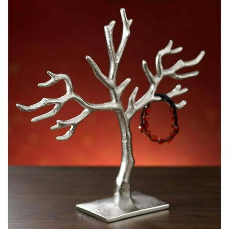 Kindwer 20 Branch Casted Tree Of Life Jewelry Holder Walmart Com Walmart Com
