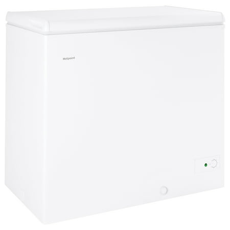 Hotpoint 7.1 Cu. Ft. Manual Defrost Chest Freezer, HCM7SMWW,