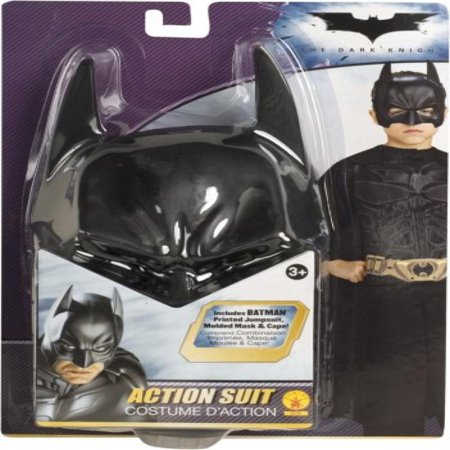 Batman the Dark Knight Action Suit Child, Size 8 to 10