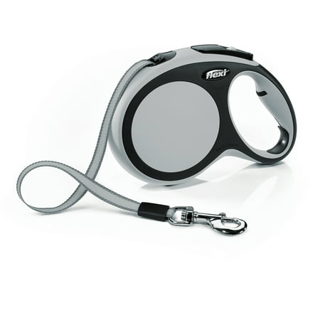 Flexi New Comfort Retractable Dog Leash, Grey