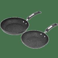 The Rock By Starfrit 060740-002-0000 The Rock By Starfrit Set Of 2 Fry Pans with Bakelite Handles