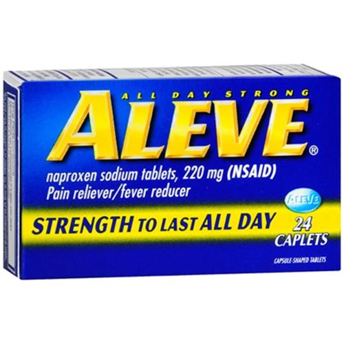 Aleve Caplets 24 ea (Pack of 2)