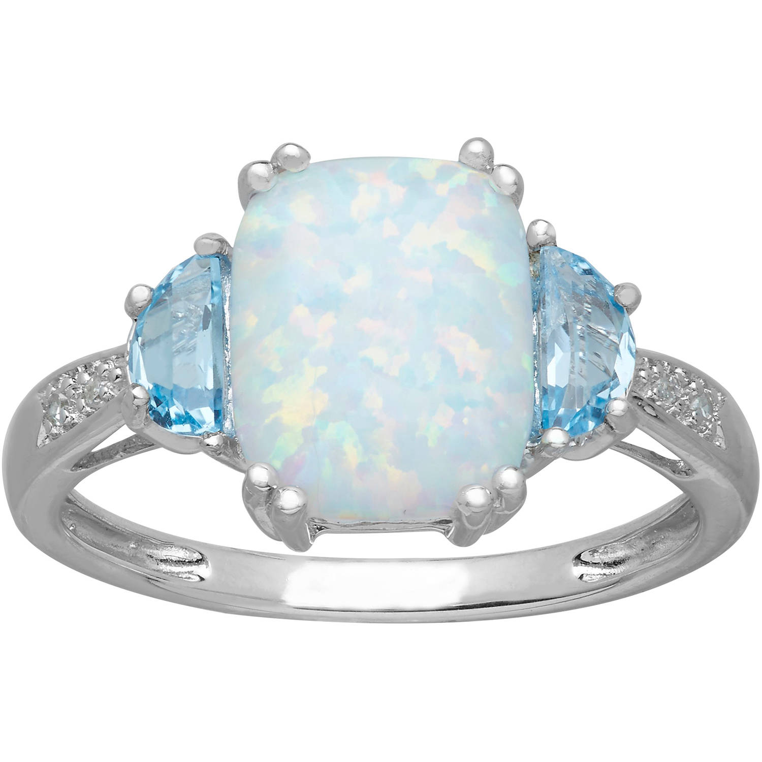 london ring reverie brilliant blue rings topaz gold earth white top