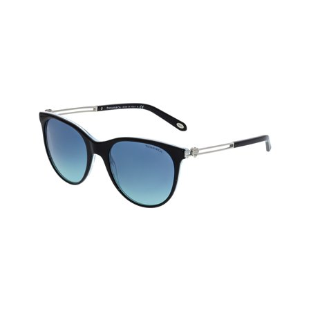 Tiffany & Co Women's Gradient TF4139-81939S-55 Black Cat Eye Sunglasses](Tiffany And Co Bags)