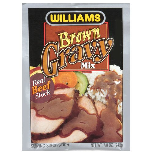 Williams Brown Gravy Mix With Real Beef Stock, .87 oz