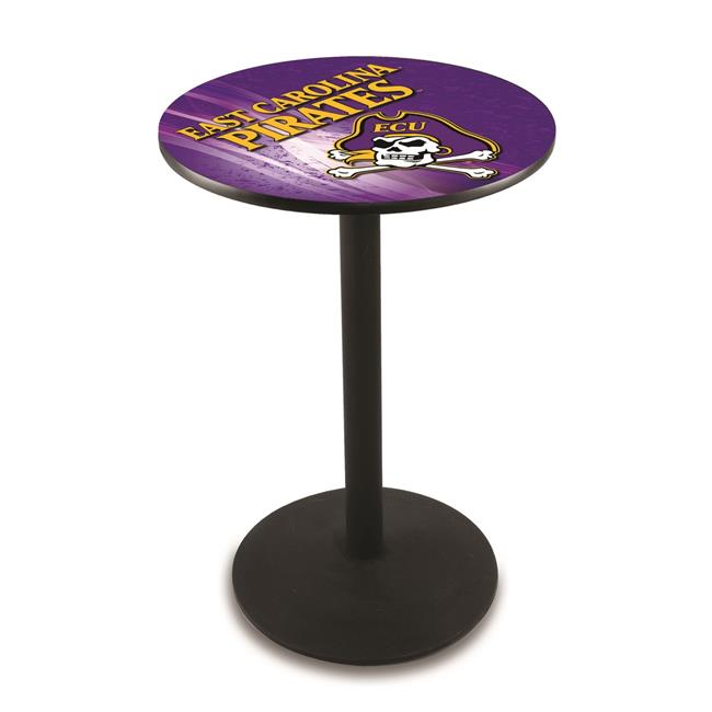 Holland Bar Stool L214B4228Ecarol-D2 42 in. East Carolina Pirates Pub Table with 28 in. Top - image 1 de 1