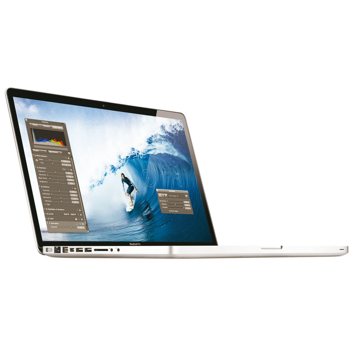 "Refurbished Apple MacBook Pro 15.4"" Laptop Intel i7 Quad Core 2GHz 4GB 500GB - MC721LLA"