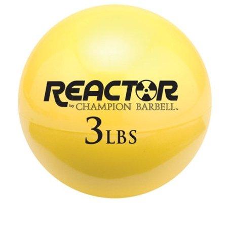 Medicine Ball by Champion, Yellow - 3 Lb