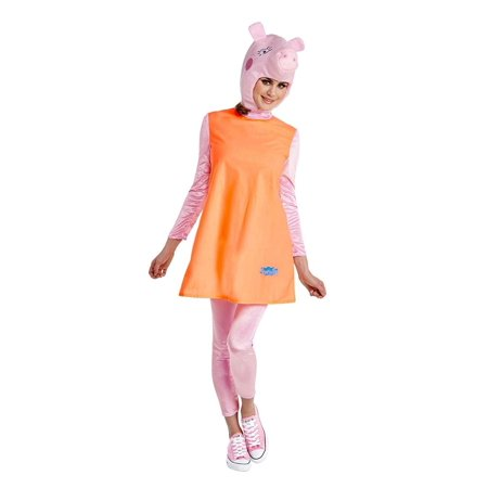 Cartoon Character Costume Ideas Adults (Peppa Pig Mummy Pig Womens)