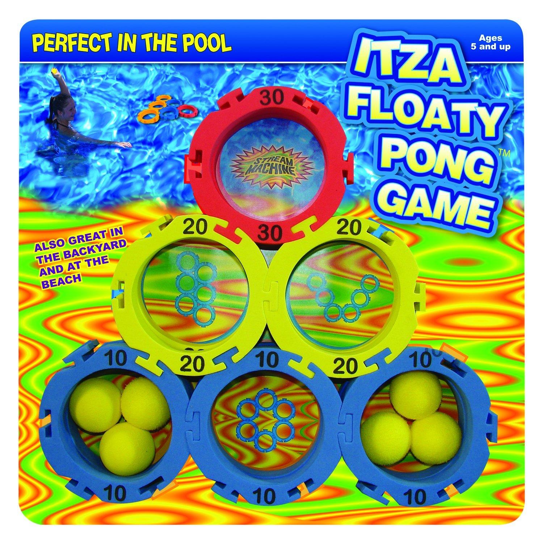 itza floaty pong backyard and pool game usa brand water sports