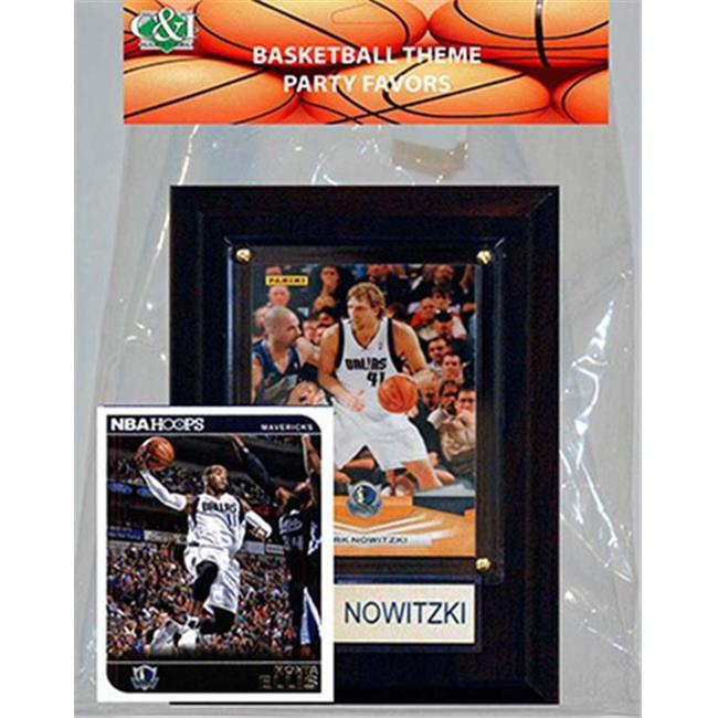 Candlcollectables 46LBMAVRICKS NBA Dallas Mavericks Party Favor With 4 x 6 Plaque - image 1 de 1