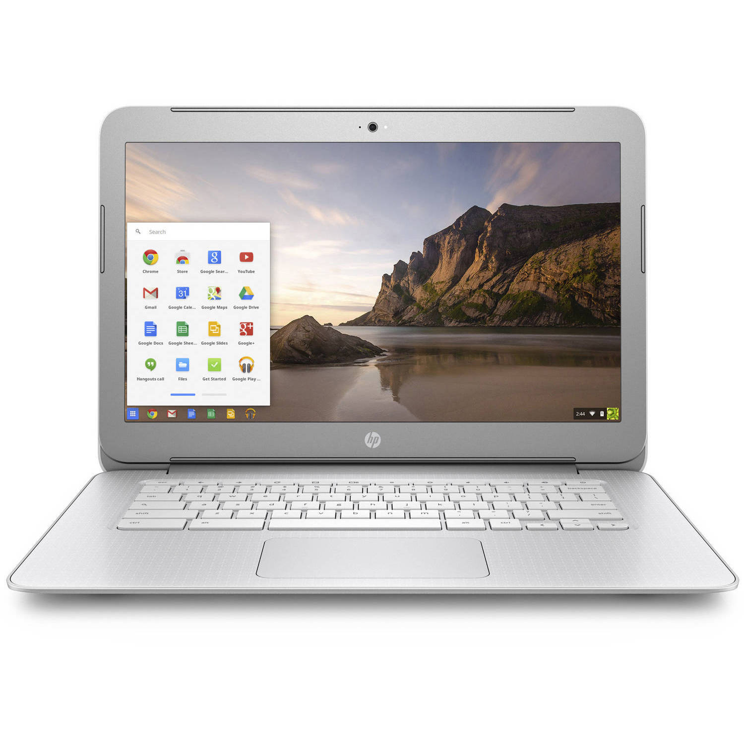 "Refurbished HP 14-ak040wm 14"" Chromebook, Chrome, Intel Celeron N2940 Processor, 4GB RAM, 16GB eMMC Drive"