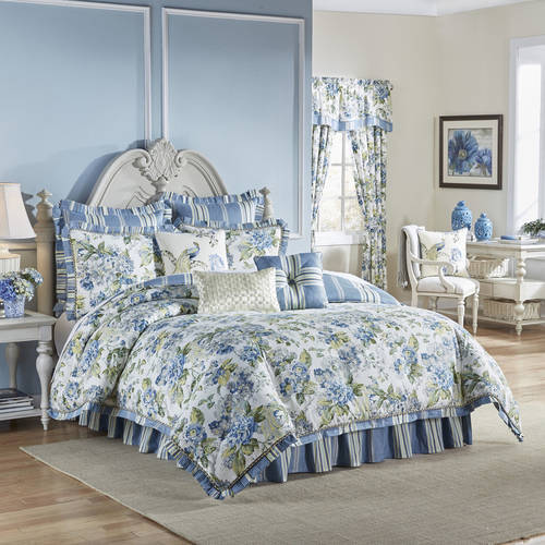 Waverly Floral Engagement 4-Piece Bedding Collection