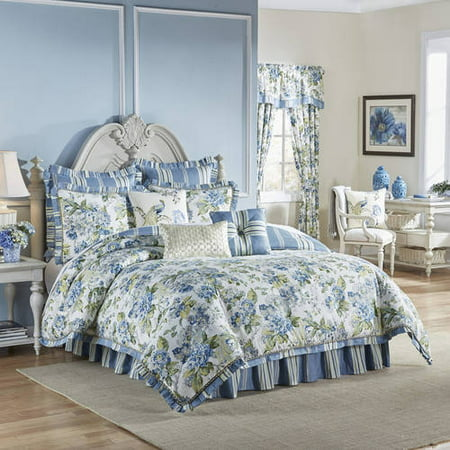 Waverly Floral Engagement 4-Piece Bedding Collection Waverly Floral Comforter