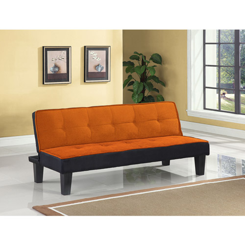 Color Block Futon Adjustable Sofa, Multiple Colors by Generic