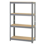 Muscle Rack 4 Shelf Steel Shelving Rack
