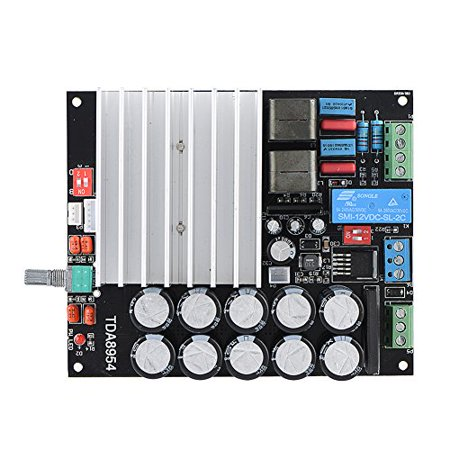 Amplifier Board,Digital Power Amplifier Board With Dual-Channel Class D Amp Board 210W+210W Digital Amp Board - image 4 de 5