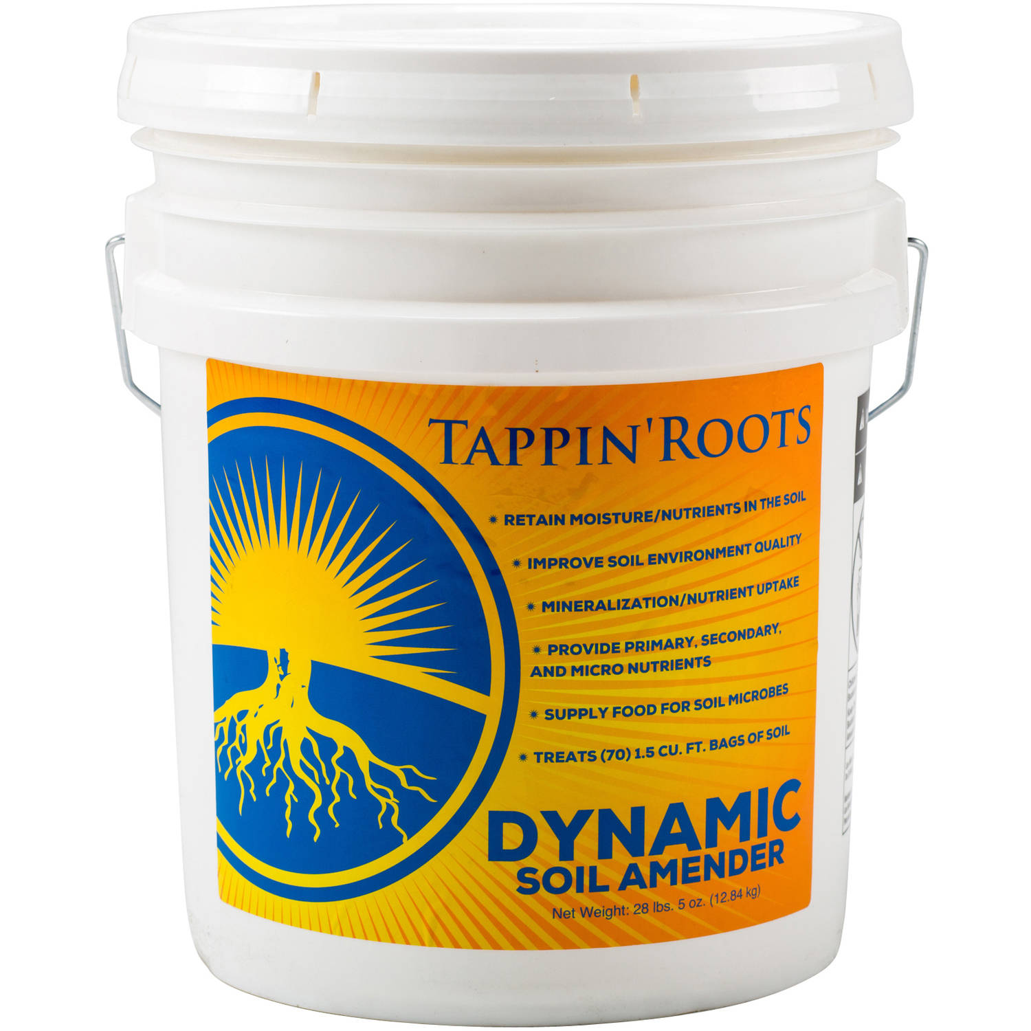 Tappin Roots Dynamic Soil Amender, 5 Gal