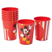 American Greetings Mickey Mouse 16oz Plastic Party Cups, 8-Count