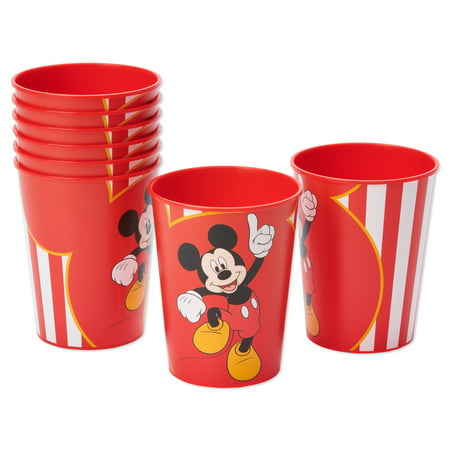 American Greetings Mickey Mouse 16oz Plastic Party Cups, 8-Count - Mickys Halloween Party