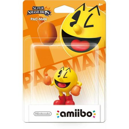 Action Patch (Pac-Man, Super Smash Bros. Series, Nintendo amiibo, NVLCAACC )