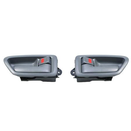 For 97-01 Toyota Camry Gray 2 Interior Inner Inside Door Handle 2PCS 97 98 99 00 01 DH18