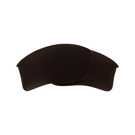 Replacement Lenses Compatible with OAKLEY Flak Jacket XLJ Bronze Brown (Oakley-flak Jacket Xlj Ersatzgläser)