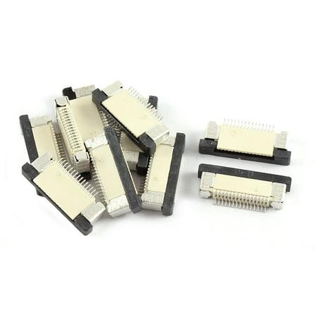10Pcs Orifice inférieur 15Pin 0.5mm Pas FFC FPC Connecteur Ruban Sockets - image 2 de 2