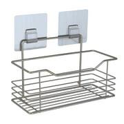 Portable Shower Caddy Shelf Bathroom Wall Mount Rack Storage Organizer Holder