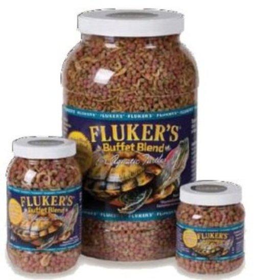 Fluker's Buffet Blend Turtle Food for Aquatic Turtles, 4 lb by Fluker's