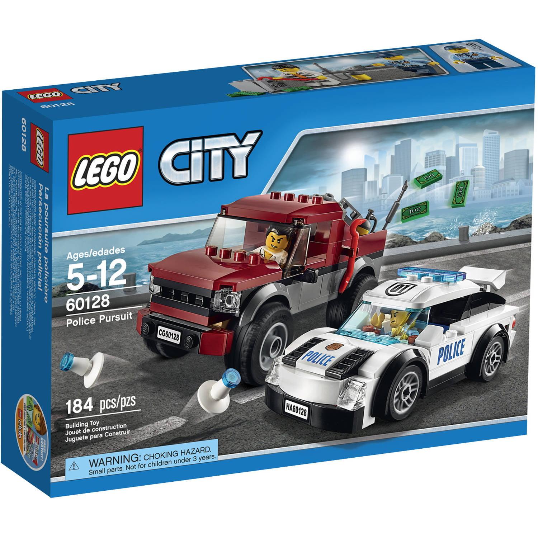 lego city police police pursuit 60128 walmartcom