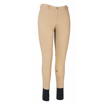 Breeches - Ladies Ribb Lowrise Pull On Breeches